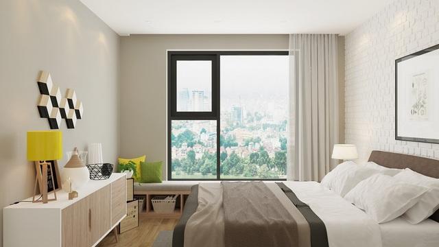 Căn hộ A2 – An Bình City có diện tích linh hoạt từ 74.3 m2 đến 114.5 m2