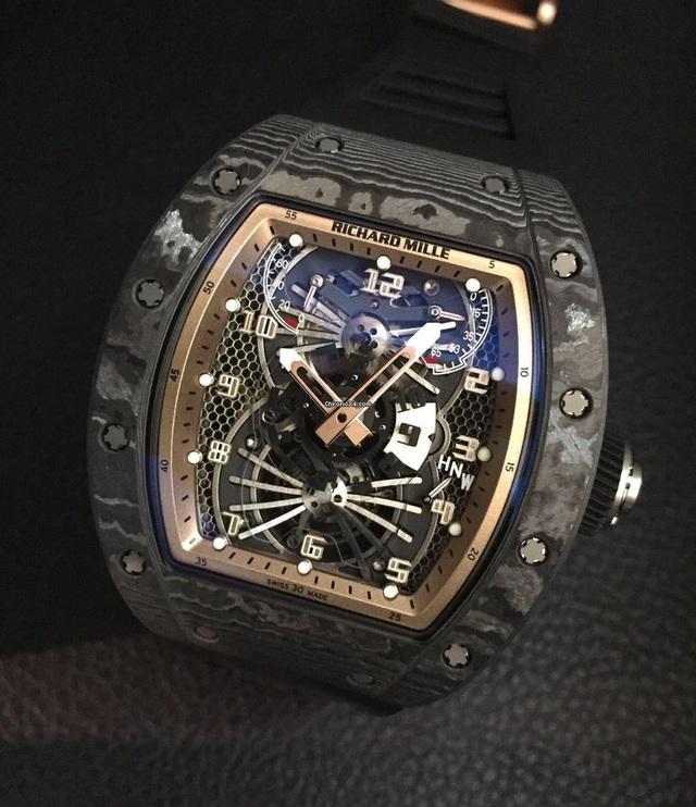 Chiêm ngưỡng đồng hồ Richard Mille hơn 15 tỉ đồng của đại gia Việt - 6
