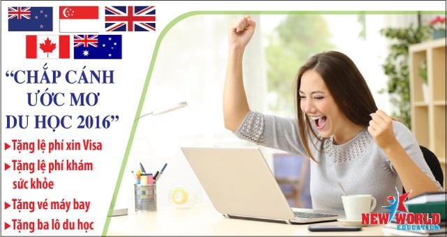 New World Education, đại diện tuyển sinh chính thức nhiều trường THPT, Cao đẳng, Đại học ÚC tại Việt Nam. Sinh viên quan tâm đến chương trình học cùng học phí, học bổng. Vui lòng liên hệ chuyên viên tư vấn New World Education theo các cách sau, chúng tôi sẽ liên hệ lại sau khi nhận được thông tin đăng ký từ quý khách.