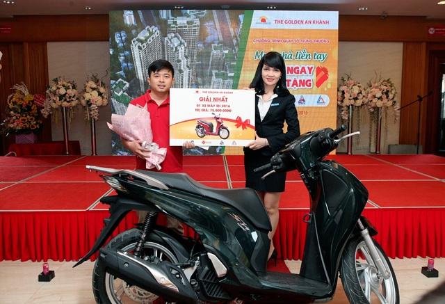 Anh Chu Văn Phương – Chủ nhân Giải thưởng xe SH 125i phiên bản 2016