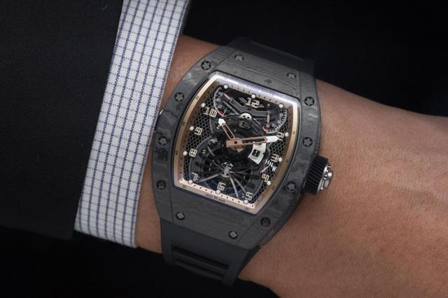 Chiêm ngưỡng đồng hồ Richard Mille hơn 15 tỉ đồng của đại gia Việt - 8