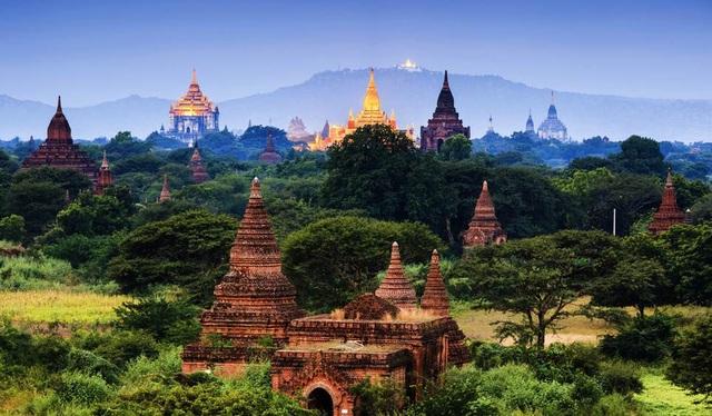 """9. Myanmar. Trang Lonely Planet gọi Myanmar là """"quốc gia bí ẩn nhất Đông Nam Á"""", và khuyên du khách nên trải nghiệm cảm giác du lịch cùng nhiều thách thức ở đây."""
