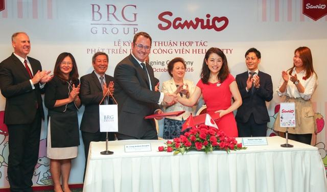 Ngày 20/10, Tập đoàn BRG và Công ty Sanrio Hồng Kông, công ty sở hữu thương hiệu nhân vật Hello Kitty nổi tiếng toàn thế giới, đã kí thỏa thuận hợp tác nhằm phát triển Công viên Giải trí với các nhân vật của Sanrio - công viên giải trí trong nhà thương hiệu quốc tế đầu tiên tại Hà Nội.