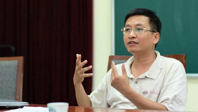 GS.TSKH Phùng Hồ Hải - Phó Chủ tịch, Tổng Thư ký Hội Toán học Việt Nam. (Ảnh: VietNamNet)