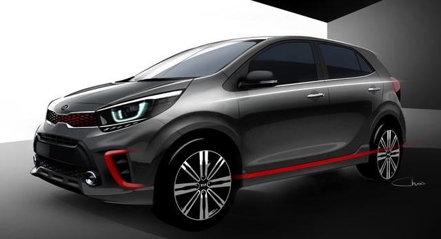 Kia đã hé lộ hình ảnh đầu tiên về thế hệ mới của mẫu xe nhỏ Picanto (tên gọi khác của Morning ở một số thị trường), hứa hẹn có nhiều thay đổi lớnlớn về thiết kế.
