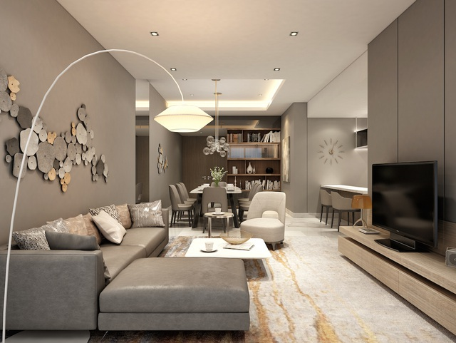 Hình ảnh nội thất của một căn hộ