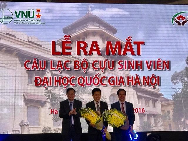 Ra mắt Câu lạc bộ cựu sinh viên ĐH Quốc gia Hà Nội - 1