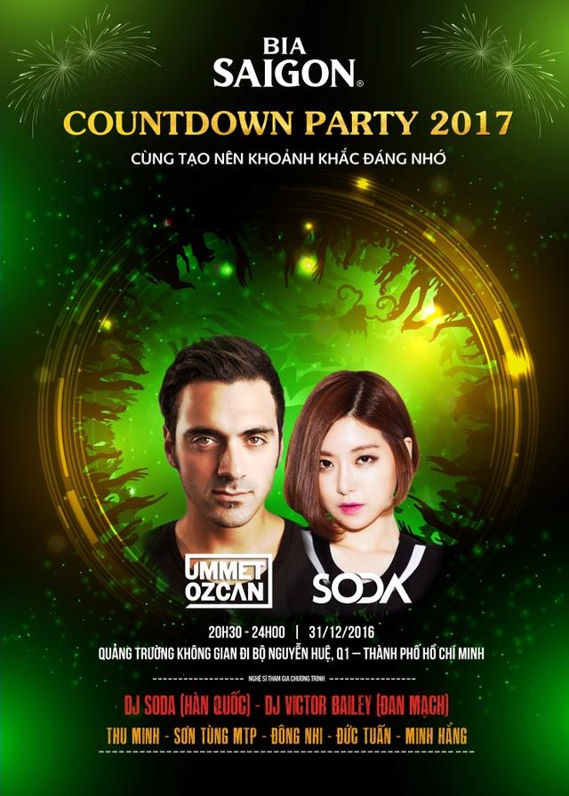Sự xuất hiện của DJ Soda, DJ Ummet Ozcan chắc chắn sẽ khiến các khán giả cực kỳ phấn khích.