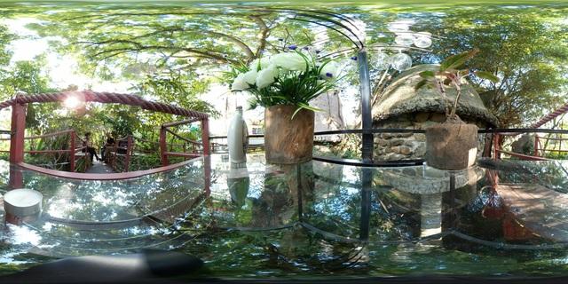 """[Ảnh 360 độ] Kỳ dị nhà trên... cây """"chẳng giống ai"""" ở Hà Nội - 5"""