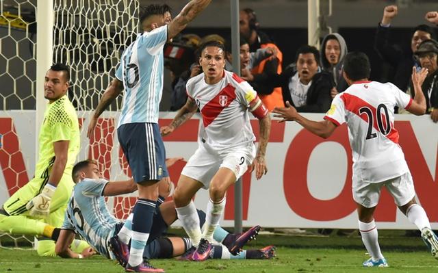 Peru liên tục gỡ hòa ở trận đấu này