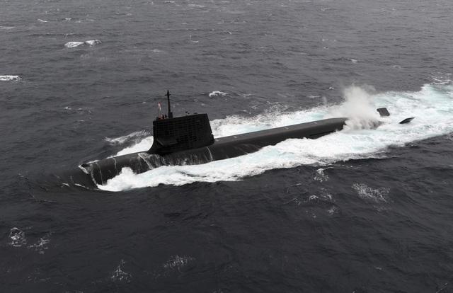 Tàu ngầm lớp Soryu. (Ảnh: JapanTimes)