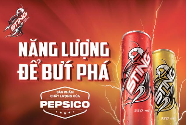 Sting – một công thức chất lượng từ Pepsico