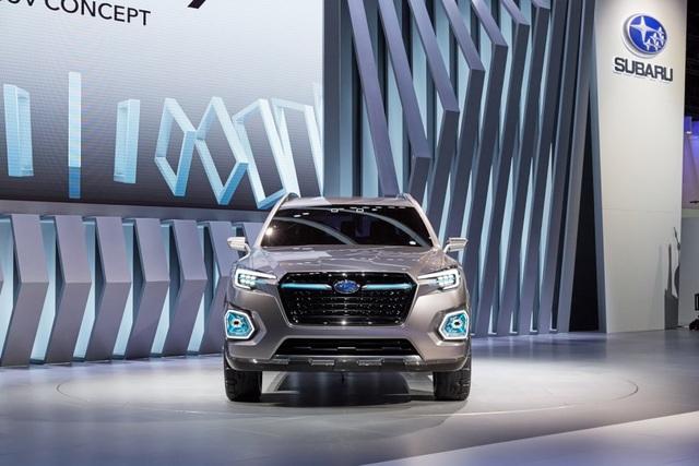 """Viziv-7 Concept """"phác hoạ"""" SUV mới của Subaru - 2"""
