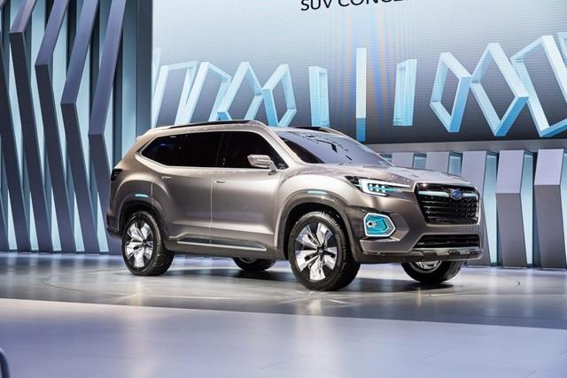 """Viziv-7 Concept """"phác hoạ"""" SUV mới của Subaru - 6"""