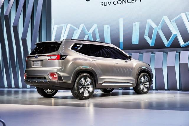 """Viziv-7 Concept """"phác hoạ"""" SUV mới của Subaru - 5"""