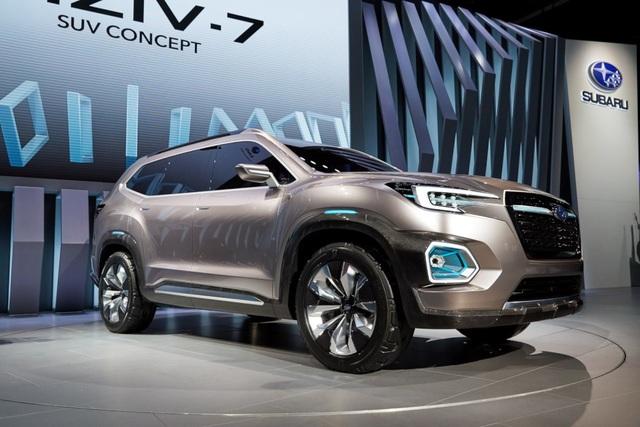 """Viziv-7 Concept """"phác hoạ"""" SUV mới của Subaru - 4"""