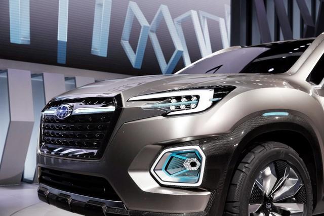 """Viziv-7 Concept """"phác hoạ"""" SUV mới của Subaru - 3"""