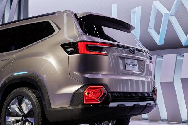 """Viziv-7 Concept """"phác hoạ"""" SUV mới của Subaru - 9"""