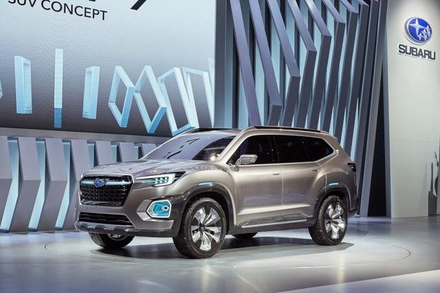 """Viziv-7 Concept """"phác hoạ"""" SUV mới của Subaru - 1"""