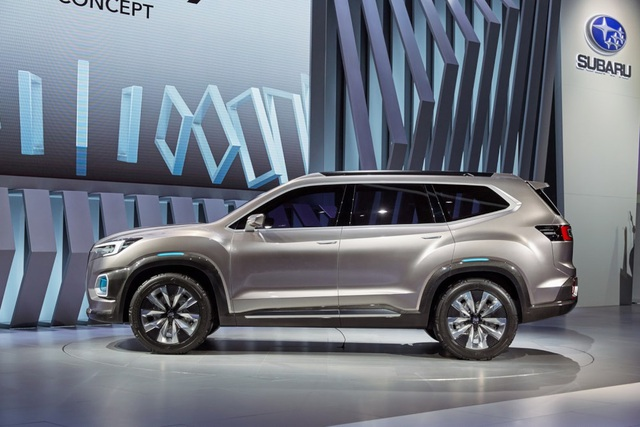 """Viziv-7 Concept """"phác hoạ"""" SUV mới của Subaru - 8"""