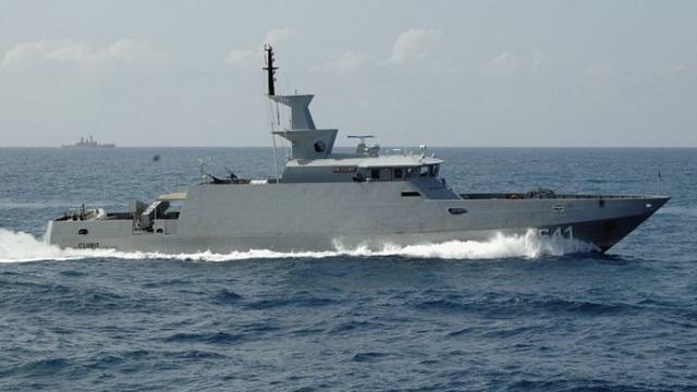 Tàu hải quân Indonesia. (Ảnh: IHS Janes)