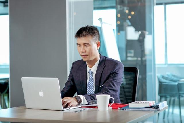 Thạc sĩ Vũ Chí Huy - Giám đốc Công ty Bảo hiểm Bưu Điện Âu Lạc.