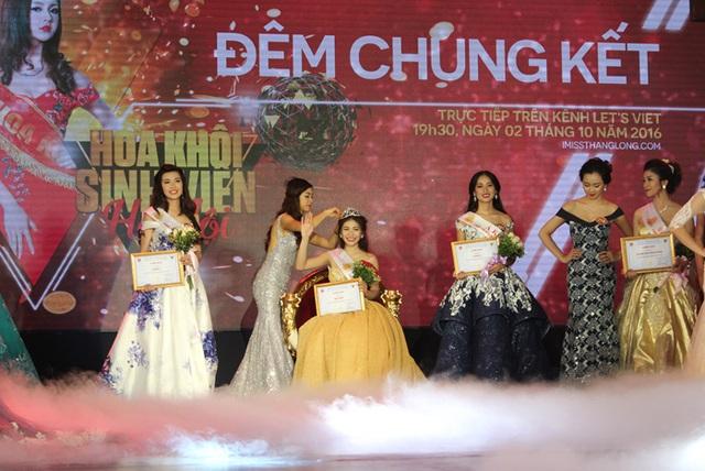 Hồ Ái Thơ xuất sắc đạt vương miện của cuộc thi IMiss Thăng Long 2016