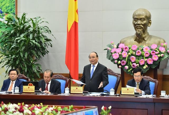 Thủ tướng phát biểu khai mạc hội nghị (ảnh: VGP)