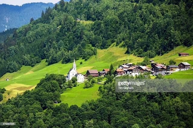 Cảnh sắc thiên nhiên của đất nước Thụy Sĩ.