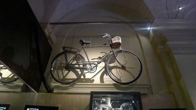 Một chiếc xe đạp cũ...