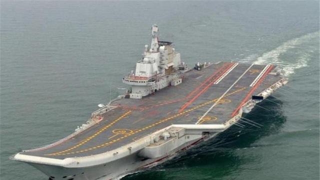 Tàu sân bay Liêu Ninh. (Ảnh: AFP)