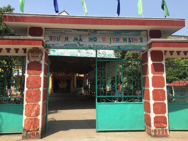 Trường mầm non thị trấn Lim 2 (huyện Tiên Du, tỉnh Bắc Ninh).