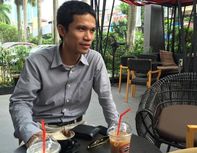 Ông Trần Long Tiến, Giải Ba Nhân tài Đất Việt 2015 với sản phẩm Ứng dụng cảnh báo cước điện thoại Whypay.