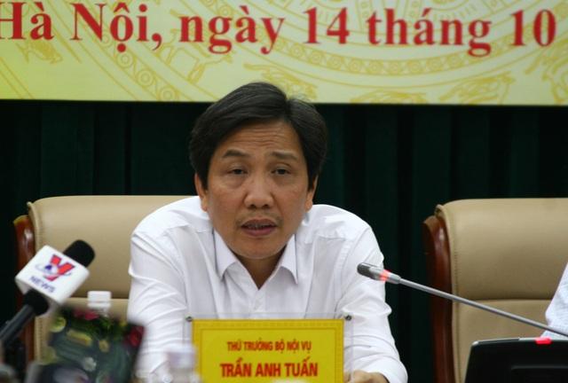 Thứ trưởng Bộ Nội vụ Trần Anh Tuấn cho biết, bộ này đã xác định trách nhiệm những đơn vị có liên quan đến việc bổ nhiệm Trịnh Xuân Thanh