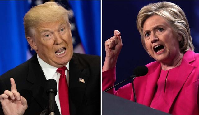 Hai ứng viên tổng thống Mỹ. (Ảnh: AFP)