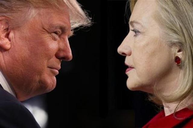 Tổng thống đắc cử Mỹ Donald Trump và ứng viên tổng thống đảng Dân chủ Hillary Clinton. (Ảnh: Getty)