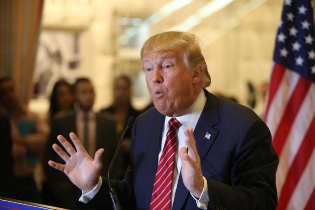 Tổng thống đắc cử Donald Trump. (Ảnh: AFP)