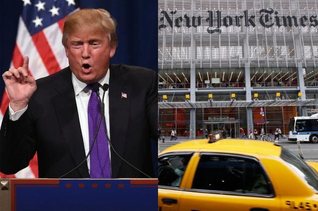 Tổng thống đắc cử Mỹ Donald Trump hủy họp báo với New York Times. (Ảnh: Getty)