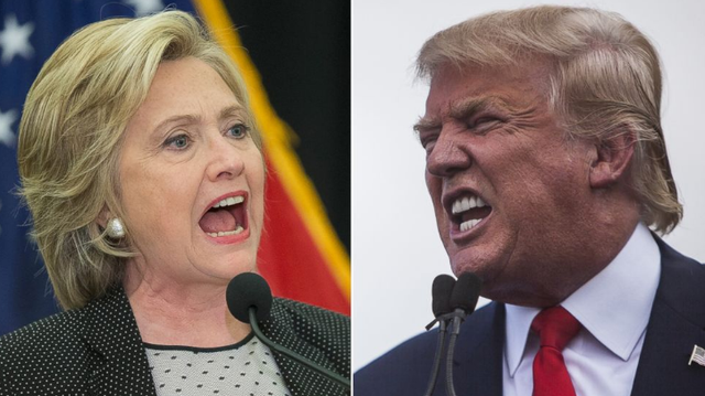 Hai ứng viên tổng thống Mỹ. (Ảnh: Getty)