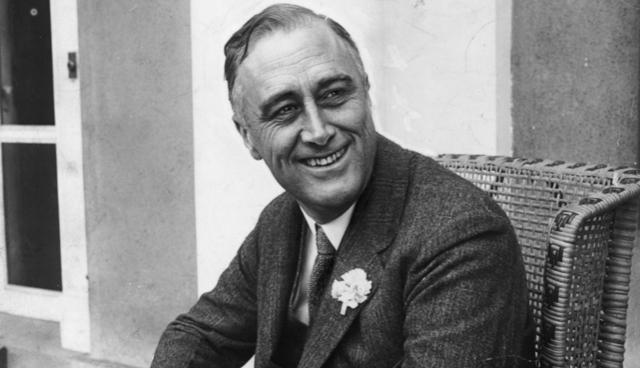 Cựu Tổng thống Franklin D. Roosevelt không bao giờ để lộ những hình ảnh trên chiếc xe lăn. (Ảnh: Reference)