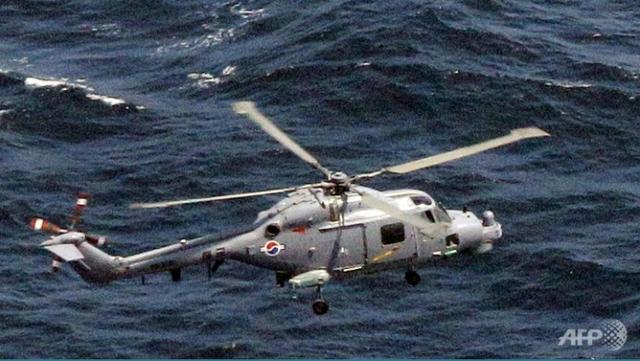 Một trực thăng Lynx của Hải quân Hàn Quốc. (Ảnh: AFP)