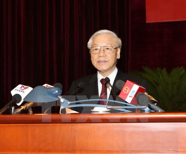Tổng Bí thư Nguyễn Phú Trọng. (Ảnh : Trí Dũng/TTXVN)