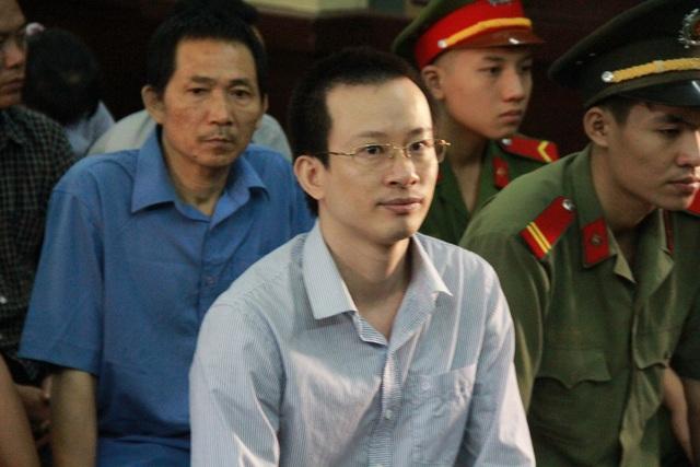 Bị cáo Hoàng Đình Quyết - Cựu giám đốc VNCB chi nhánh Lam Giang