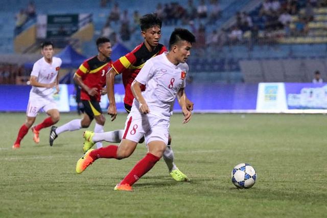 U19 Việt Nam (trắng) quyết tâm có mặt ở trận chung kết giải Đông Nam Á