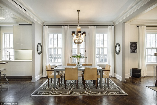Diễn viên Uma Thurman vừa bán căn hộ sang trọng của cô ở Manhattan với giá 6,6 triệu đô la