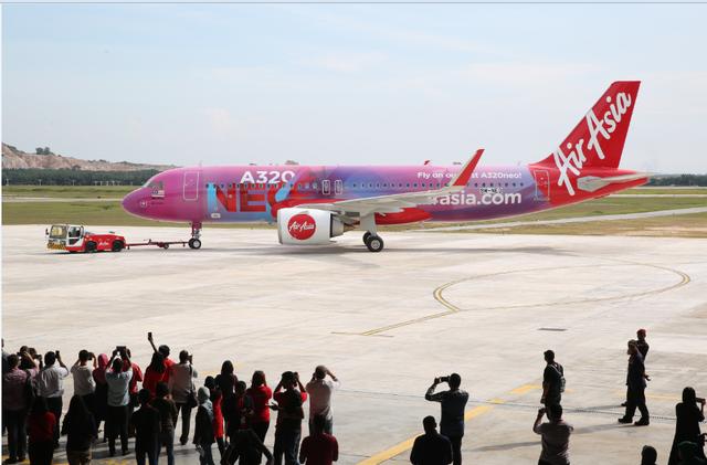 Hãng hàng không đầu tiên ở Đông Nam Á đưa vào sử dụng máy bay Airbus A320neo - 1