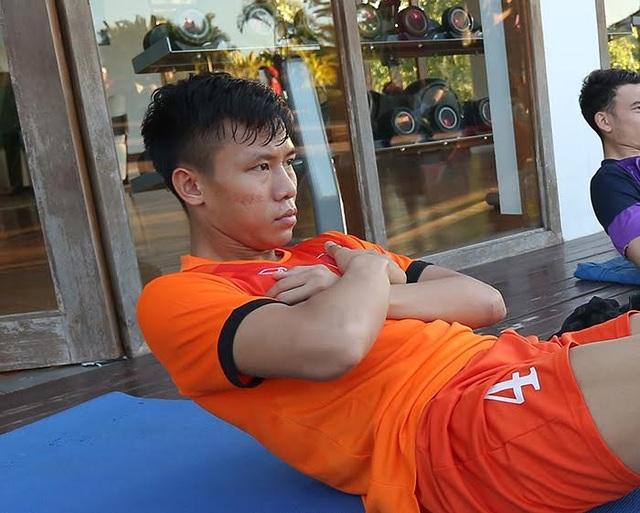 Trung vệ Quế Ngọc Hải, ảnh: T.Lương