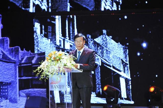 Bộ trưởng Nguyễn Ngọc Thiện phát biểu khai mạc LHP tối qua tại Hà Nội.