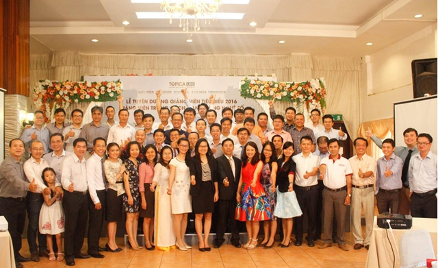 Tập thể giảng viên tại khu vực TP Hồ Chí Minh