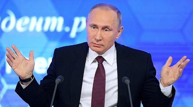 Nhà lãnh đạo Nga Putin (Ảnh: AFP)